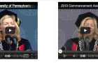 Can you spot the similarities in Dr. Gutmann's UPenn Commencement Speeches? (SIDE-BY-SIDE VIDEO FUN)