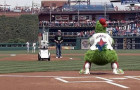 Penn robot throws out first pitch at a Phillies Game