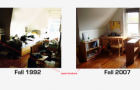 Now & Then Thursdays: My Dorm Room 15 years later!!
