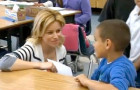 Former latchkey kid Elizabeth Banks lends her support