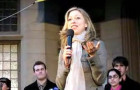 Chelsea to Undergrads: Support My Mom! (videos)