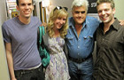 Jay Leno Flies Penn Alum Out to LA (VIDEO)