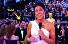 1 minute in, this Penn alum is spotted on Oscar's red carpet